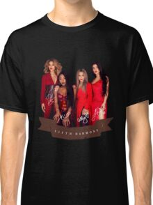 Fifth Harmony Portrait With Signatures Classic T-Shirt