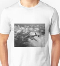 Handley Page Halifax above clouds T-Shirt