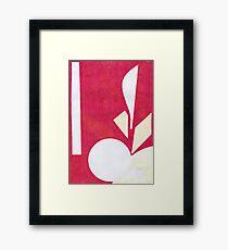 Monoprint I Framed Print