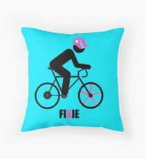 FIXIE Throw Pillow