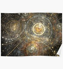 Dreamy orrery Poster