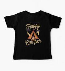 Glücklicher Camper Baby T-Shirt