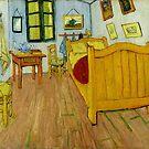 Schlafzimmer in Arles von Van Gogh von GalleryGreats