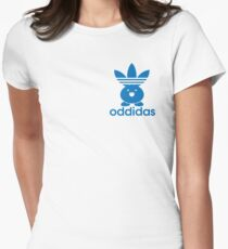ODDIDAS Womens Fitted T-Shirt