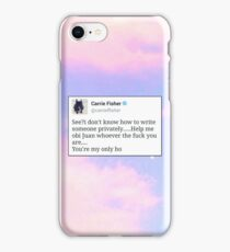 Help Me Obi Juan iPhone Case/Skin