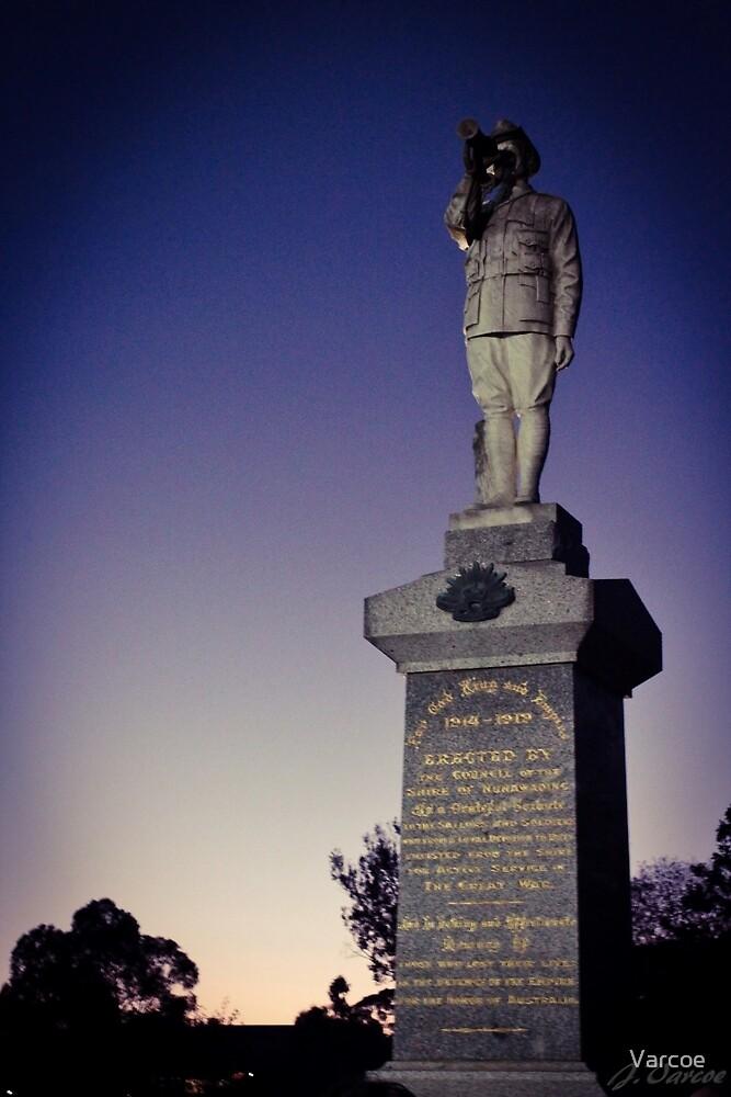 Dawn Service ANZAC Day. by Varcoe