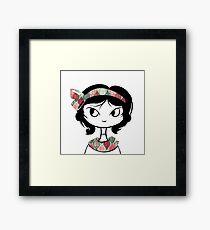 Headband Cutie Framed Print