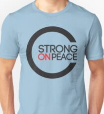 Strong On Peace -  Within The Globe Unisex T-Shirt