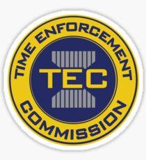 Time Enforcement Commission Sticker