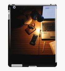 work place iPad Case/Skin