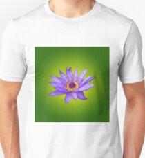 Water Lily Flower Pond Aquatic Purple Water Bloom  Unisex T-Shirt