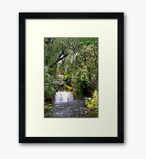 Deep in the City Framed Print
