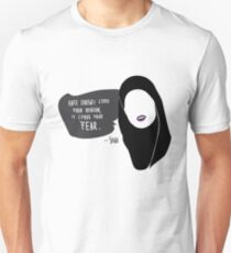 """SKAM - Sana """"Hate doesn't come from religion. It comes from fear."""" Unisex T-Shirt"""