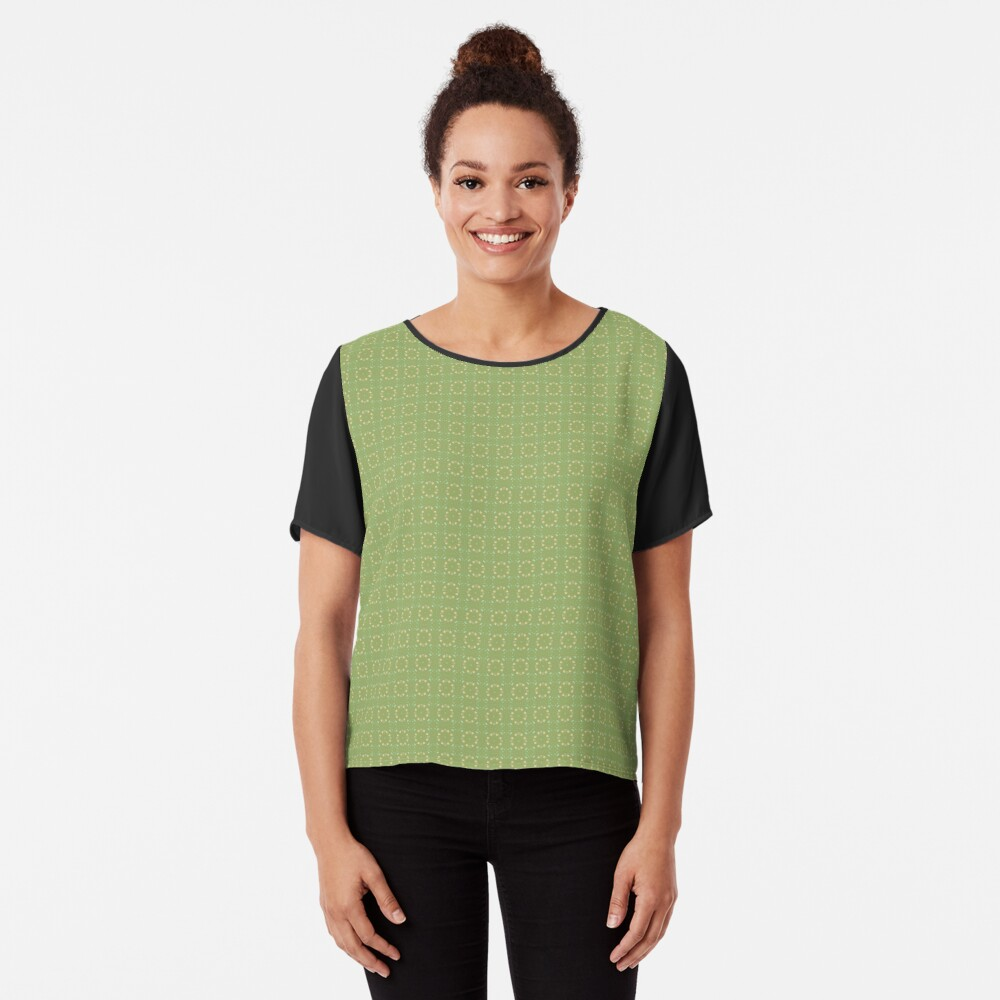 Country Kitchen by Julie Everhart Chiffon Top
