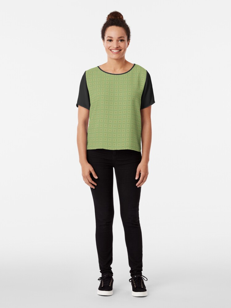 Alternate view of Country Kitchen by Julie Everhart Chiffon Top