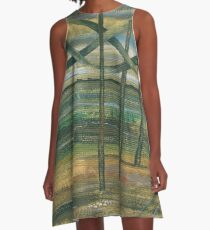 The Crossing Point A-Line Dress