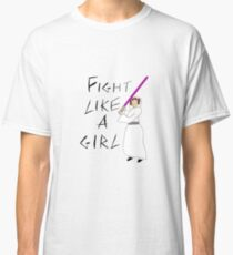 FIGHT LIKE A GIRL - LEIA ORGANA Classic T-Shirt