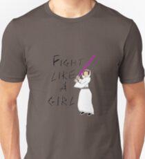 FIGHT LIKE A GIRL - LEIA ORGANA Unisex T-Shirt