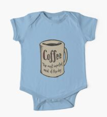 Coffee, the most important meal of the day One Piece - Short Sleeve