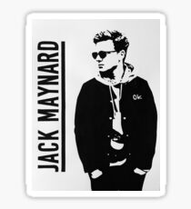 Jack Maynard Design 2 Sticker