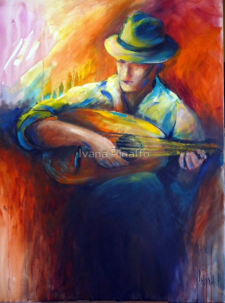 The musician by Ivana Pinaffo