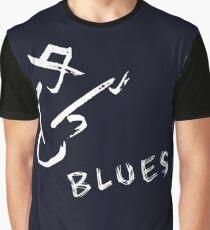 blues art guitar Graphic T-Shirt