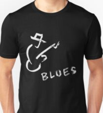 blues art guitar T-Shirt