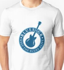 keep the blues alive  Unisex T-Shirt