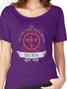Magic The Gathering - Burn Life V2 Women's Relaxed Fit T-Shirt