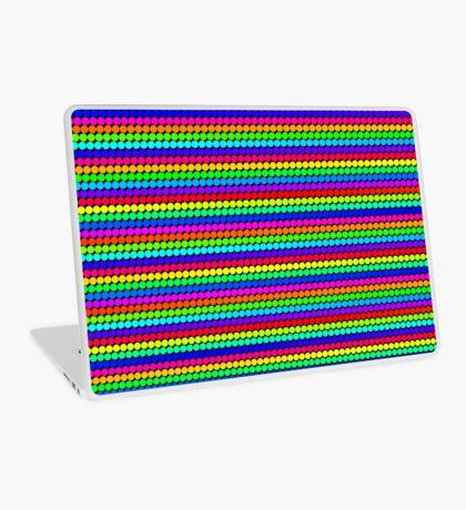 Rainbow Polka dots 004 Laptop Skin