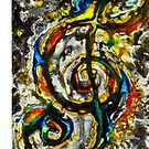 The trouble with clefs #3 by Sam Fonte