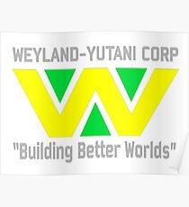 Weyland-Yutani Corporation Poster