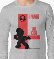 The Icon (Black) Long Sleeve T-Shirt