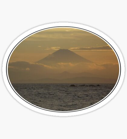 Mt. Fuji Sunset I Sticker