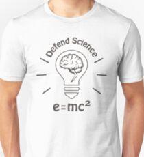 Verteidige die Wissenschaft Unisex T-Shirt