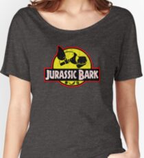 Jurassic Bark (Distressed)  Women's Relaxed Fit T-Shirt