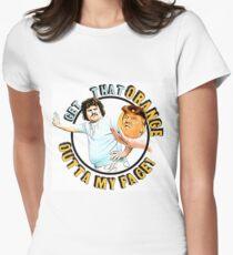 Get That Orange Outta My Face! Pro Nacho Libre Shirt Anti-Trump Shirt Women's Fitted T-Shirt