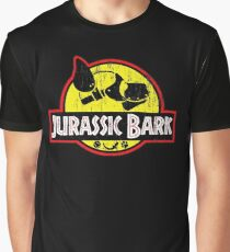 Jurassic Bark (Distressed)  Graphic T-Shirt