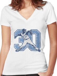 30 - Ace (vintage) Women's Fitted V-Neck T-Shirt