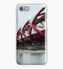 Peace Bridge - Calgary, Alberta iPhone Case/Skin