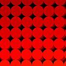 Rainbow Polka dots 009 by Rupert Russell