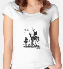 Don Quixote Women's Fitted Scoop T-Shirt