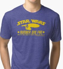 No 1 Fan for Pedants Tri-blend T-Shirt