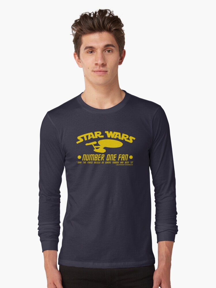 No 1 Fan for Pedants Long Sleeve T-Shirt Front
