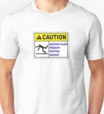 Grayson Allen Tripping Hazard Unisex T-Shirt
