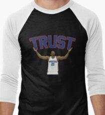 Trust the Process  Men's Baseball ¾ T-Shirt