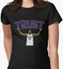 Trust the Process  Womens Fitted T-Shirt