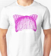Crochet Pussyhat Unisex T-Shirt