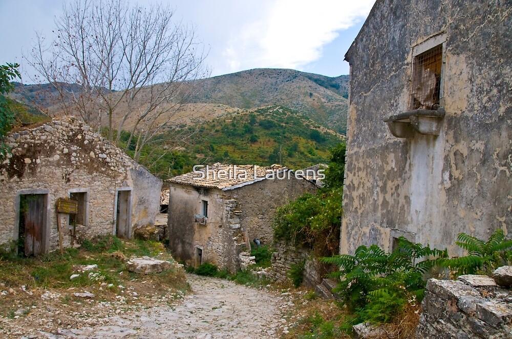 Old Perithia, Corfu by dunawori