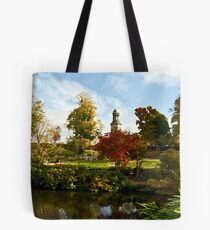 St Chads from The Quarry, Shrewsbury Tote Bag